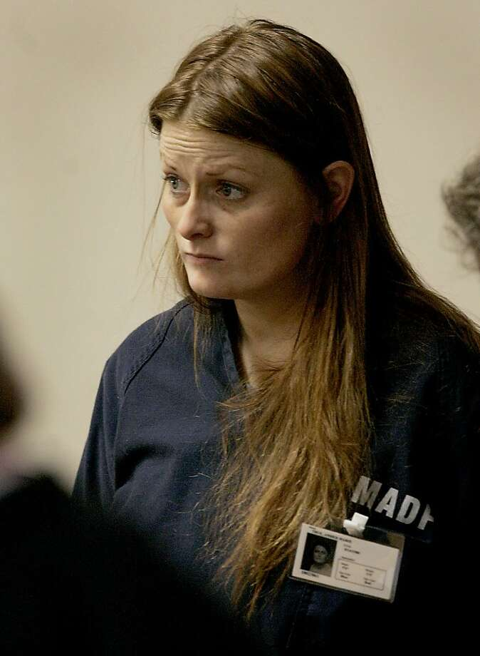 Amber Marie True appears in Sonoma County Superior Court in Santa Rosa, Calif. on Thursday Dec. 3, 2009. True and Michael Vincent Gutierrez are charged with breaking into the home of John and Susan Maloney of Sonoma after hearing reports of their deaths. The Maloneys and their two children, Aiden and Grace, were killed in a crash Saturday night, along with the other driver, 19-year-old Steven Culbertson. (AP Photo/Pool, Kent Porter) Photo: Kent Porter, Press Democrat Via AP