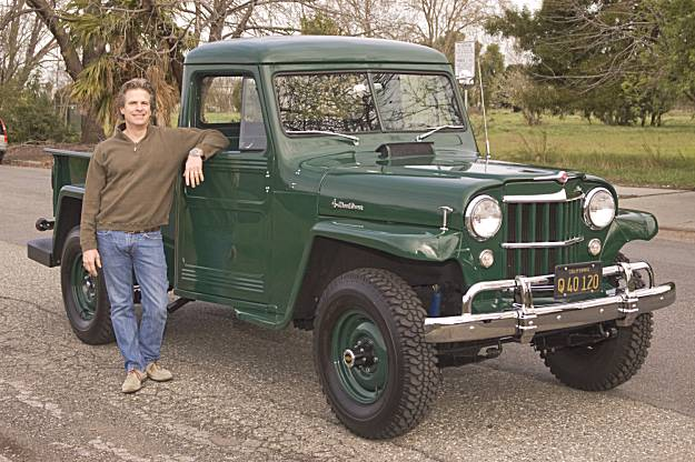 My Ride 1955 Willys One Ton 4wd Pickup Truck Sfgate