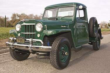 My Ride: 1955 Willys One-Ton 4WD Pickup Truck - SFGate