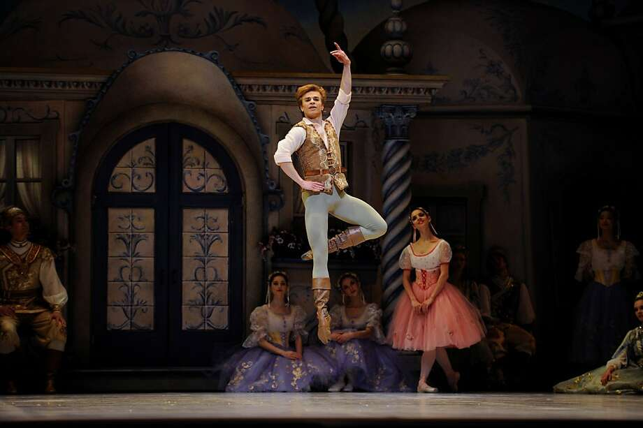 Gennadi Nedvigin in Balanchine's Copp?lia. Photo: Erik Tomasson