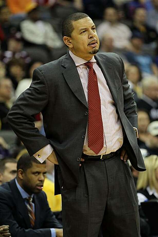 KANSAS CITY, MO - MARCH 10:  Head coach Jeff Capel of the Oklahoma Sooners reacts on the sidelines during their quarterfinal game against the Oklahoma Sooners in the 2011 Phillips 66 Big 12 Men's Basketball Tournament at Sprint Center on March 10, 2011 inKansas City, Missouri. Photo: Jamie Squire, Getty Images