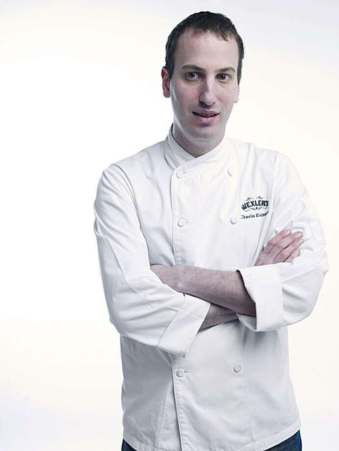 RISINGSTARS_KLEINMAN01_JOHNLEEPICTURES.JPG Charlie Kleinman, chef at Wexler's in San Francisco.  Photo taken in the Chronicle photo studio. By JOHN LEE/SPECIAL TO THE CHRONICLE Photo: John Lee, Special To The Chronicle