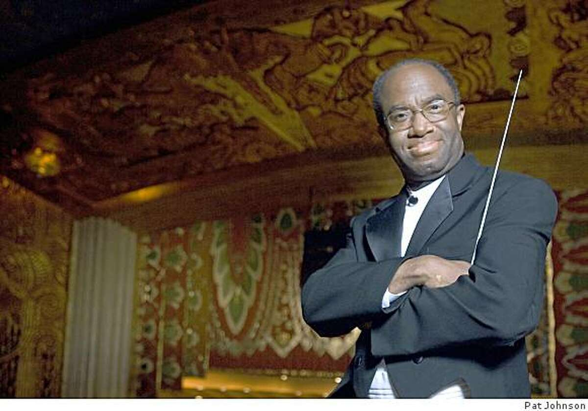 Music director Michael Morgan leads the Oakland East Bay Symphony for its July 4th performance at Craneway Pavilion in Richmond. Oakland East Bay Symphony