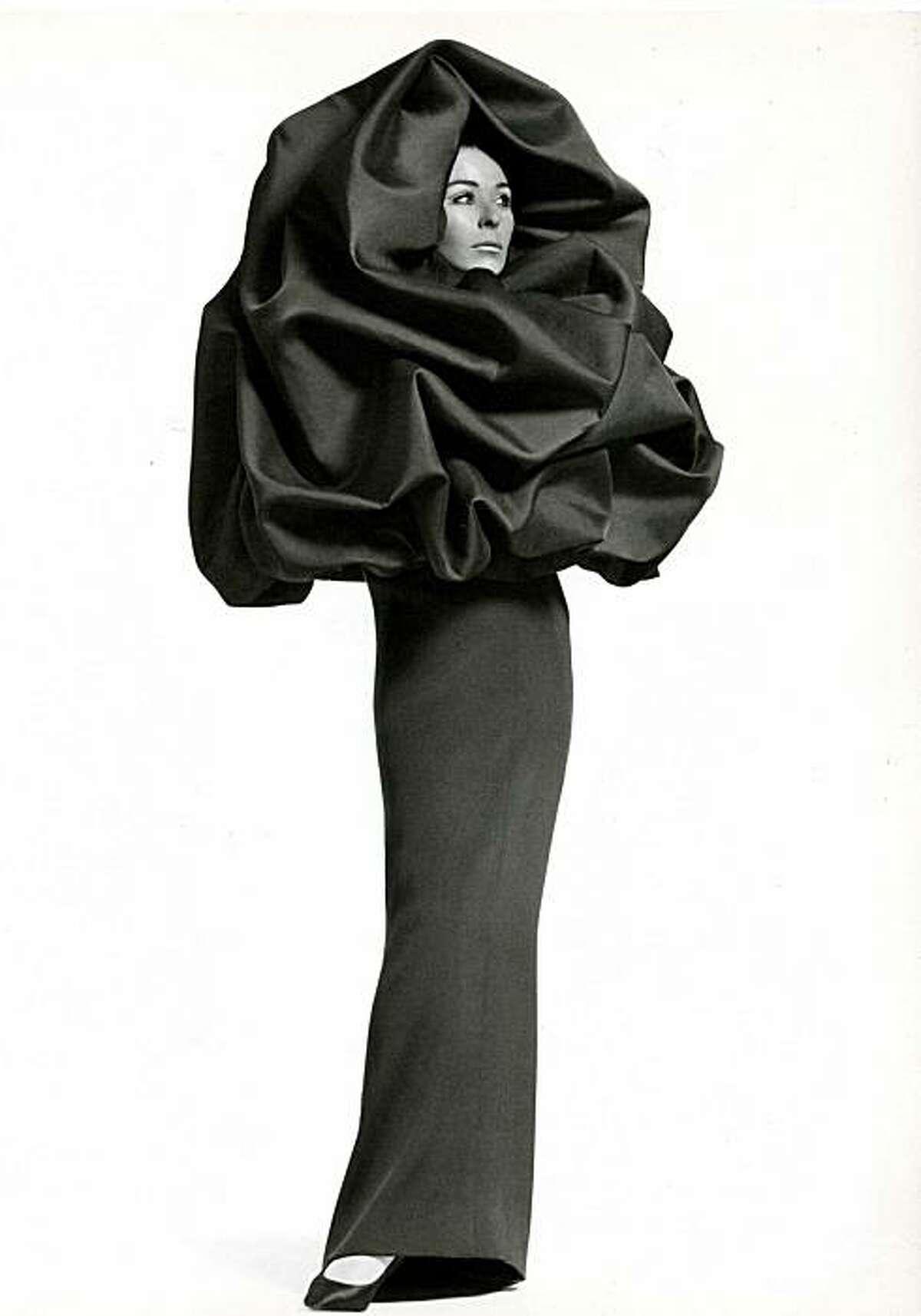 """Balenciaga evening ensemble, 1967, will be part of the """"Balenciaga: Spanish Master"""" exhibition coming to the de Young Museum in 2011."""