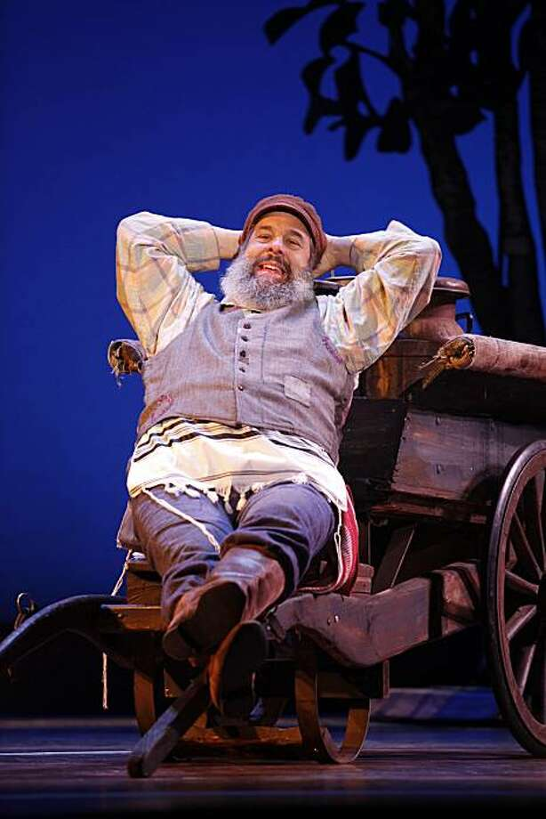 "John Preece as ""Tevye"" in Broadway San Jose presents FIDDLER ON THE ROOF March 15-20, 2011 at the San Jose Center for Performing Arts.  ? 2010, CAROL ROSEGG Photo: Carol Rosegg"