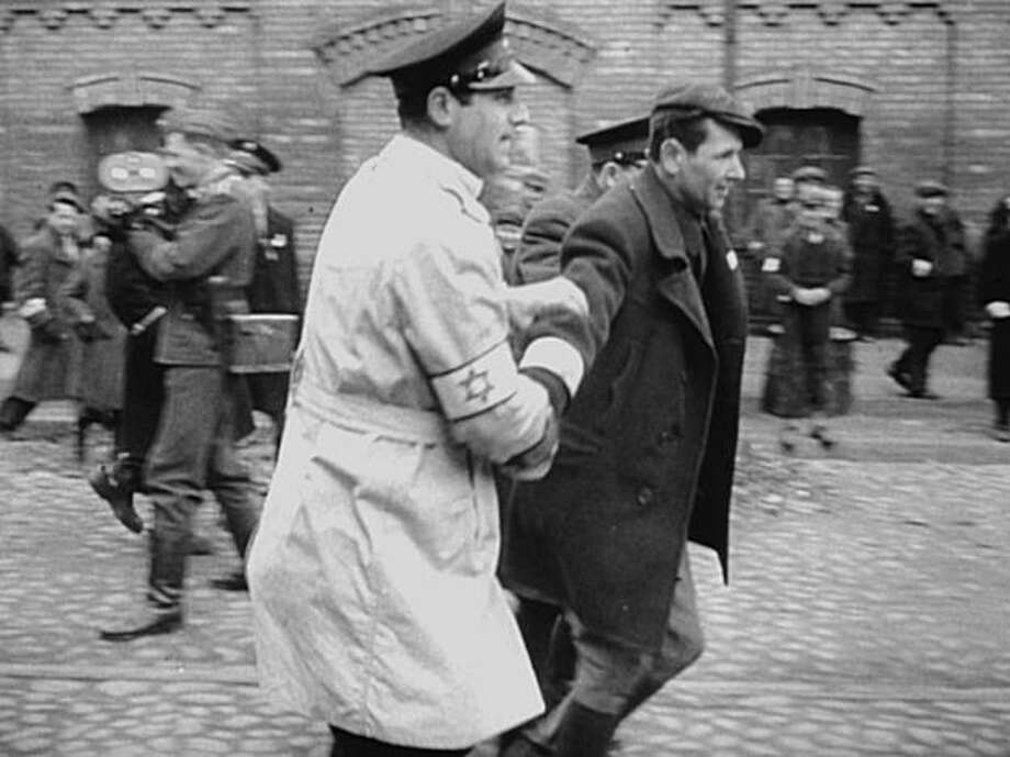 Archival footage filmed by the Nazi perpetrators, used to create A FILM UNFINISHED. Photo: Courtesy Jewish Film Festival