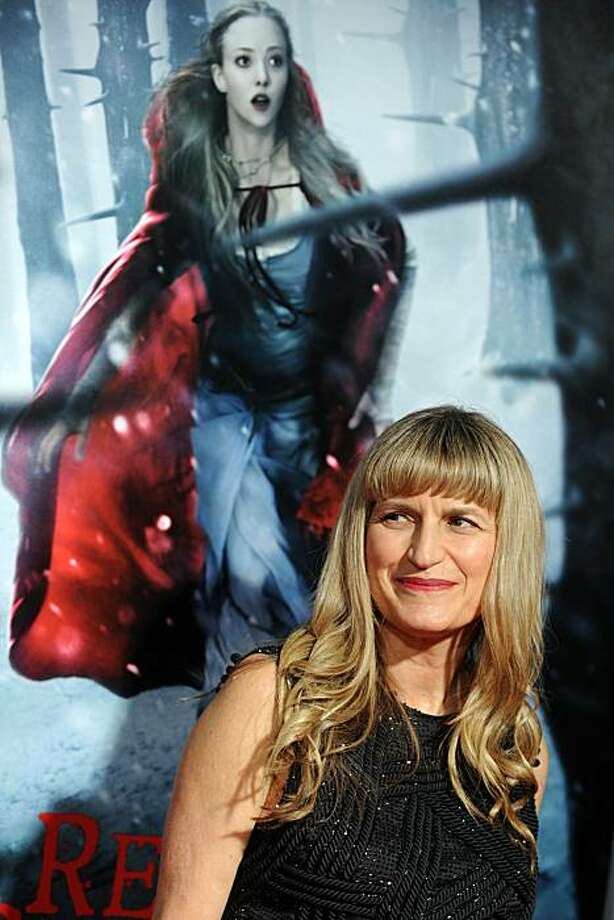 "Director Catherine Hardwicke arrives at the premiere of ""Red Riding Hood"" at the Grauman's Chinese Theater in Hollywood, California on March 7, 2011. Photo: Gabriel Bouys, AFP/Getty Images"