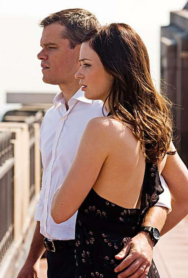 "Matt Damon and Emily Blunt star in ""The Adjustment Bureau."" (Andrew Schwartz/Universal Pictures/MCT) Photo: Andrew Schwartz, MCT"