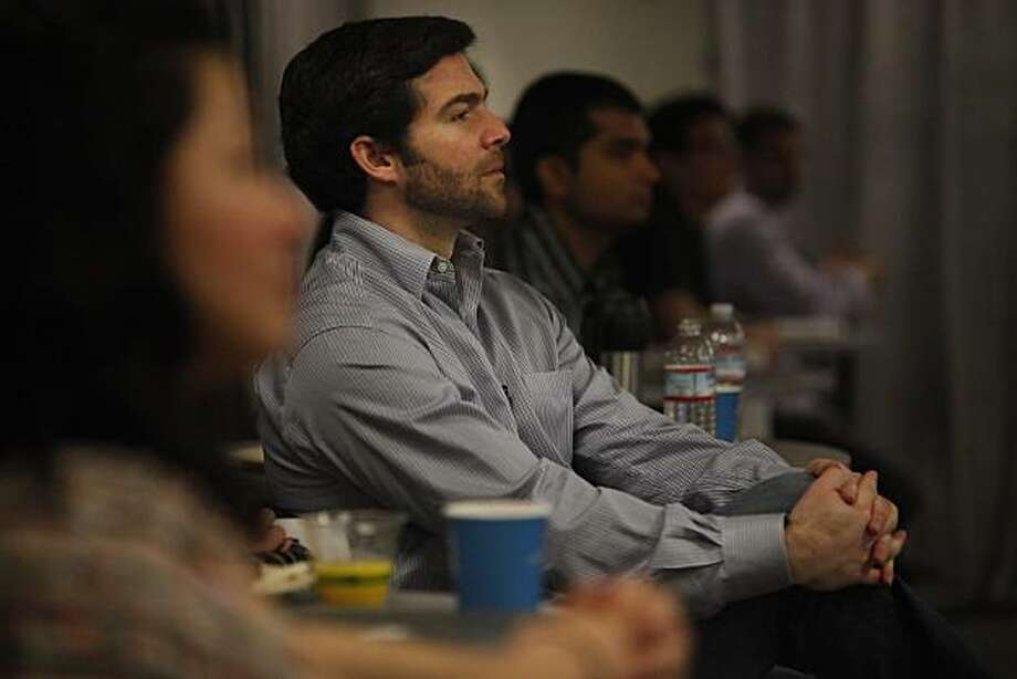 LinkedIn CEO Jeff Weiner listens to speakers during a  press conference at LinkedIn corporate headquarters on Thursday, March 10, 2011 in Mountain View, Calif. LinkedIn launched the beta of LinkedIn Today, a social news product. Photo: Lea Suzuki, The Chronicle