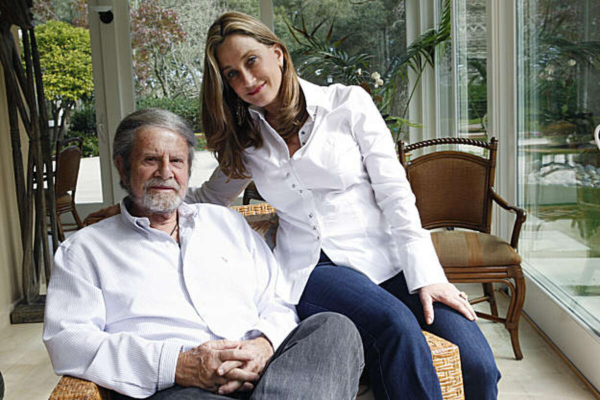 Tad and Dianne Taube pose for a photograph at their home in Woodside Calif, on Saturday, March 5, 2011. The couple has two children together and recently celebrated their 13-year anniversary.