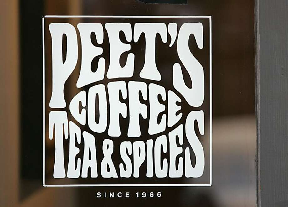 "peetscoffee_db_006.JPG A sign says ""Peet's Coffee Tea & Spices since 1966"" at Peet's Coffee & Tea, on Vine St. in Berkeley, CA, on Friday, August, 31, 2007.  photo taken: 8/31/07 Photo: Darryl Bush, The Chronicle"