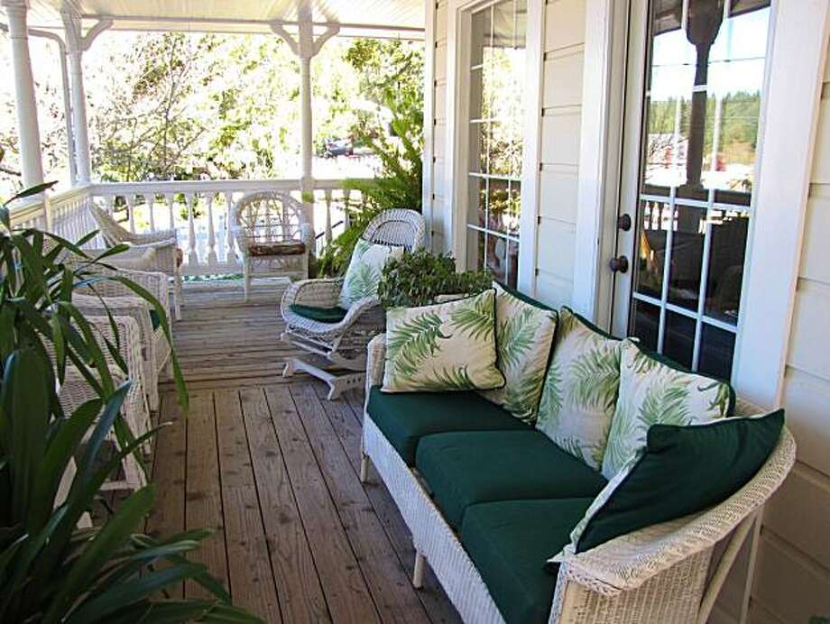The Inn at Occidental: veranda Photo: Stephanie Wright Hession