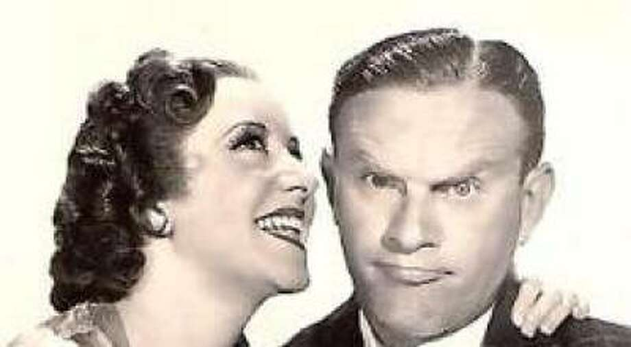 George Burns and Gracie allen early in their career. Photo: Wikipedia