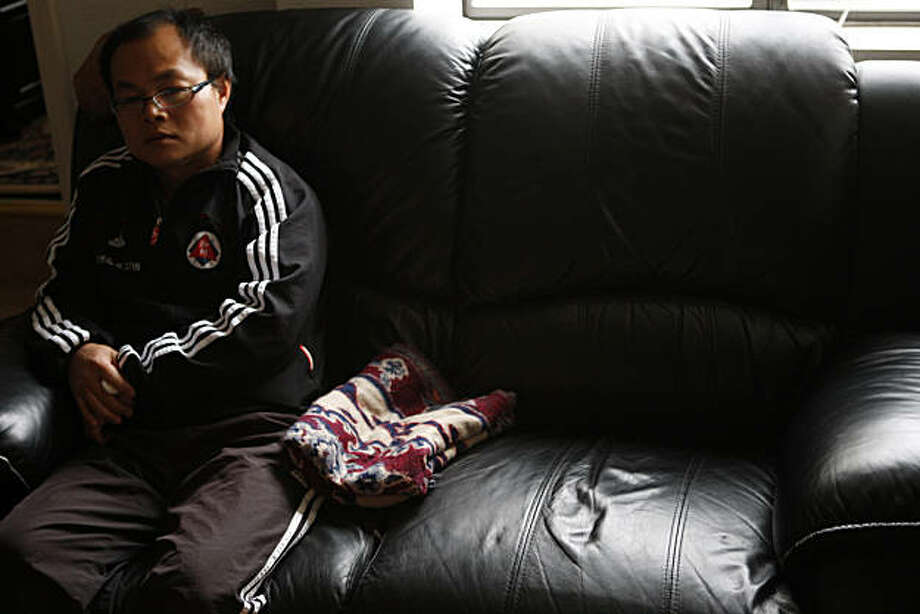 Jing Wei Chen sits at a family member's home in San Francisco Calif, on Thursday, Feb. 24, 2011. Photo: Alex Washburn, The Chronicle