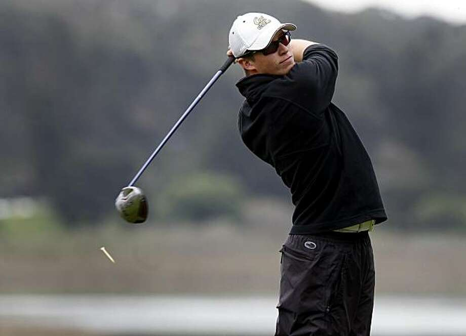 Brandon Hagy watched the flight of his ball after a shot. The finals of the San Francisco City Golf Championship were held Sunday March 13, 2011 at Harding Park.  Brandon Hagy and Jack Persons faced off in the men's, while Hannah Suh and Briana Mao in the women's competition. Photo: Brant Ward, The Chronicle