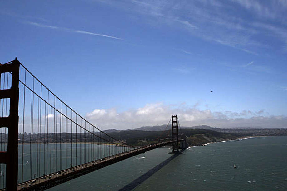 The Golden Gate Bridge on Saturday, June 19, 2010 in San Francisco, Calif. Photo: John Sebastian Russo, The Chronicle