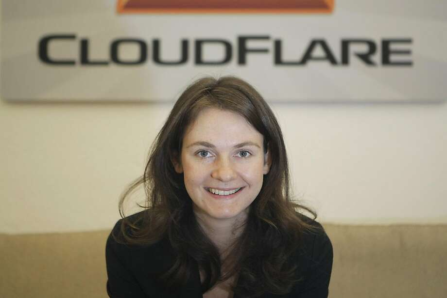 Michelle Zatlyn, co-founder of Cloudflare, in her office in the SOMA neighborhood of San Francisco, Calif., on Monday, Dec. 5, 2011. Photo: Dylan Entelis, The Chronicle