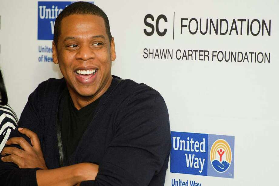 "Shawn ""Jay Z"" Carter attends a press event to announce his Carnegie Hall performances to benefit the United Way and the Shawn Carter Scholarship Foundation, in New York, Thursday, Dec. 8, 2011. (AP Photo/Charles Sykes) Photo: Charles Sykes"