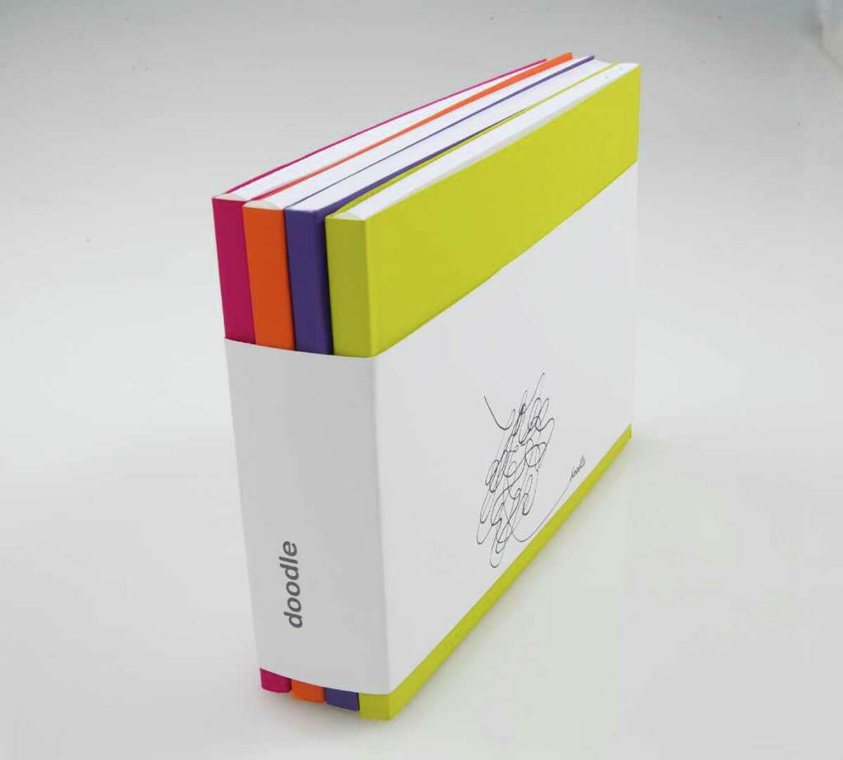 GLOSS GIFTS: Poonam Patel Doodle sketchbooks (in sets of four), $24-$28 (various sizes), Museum of Fine Arts, Houston Gift Shop