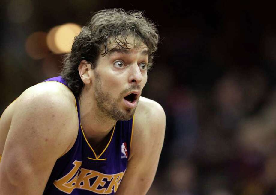 The 31-year-old Pau Gasol has three years and $57 million remaining on his contract. Photo: Amy Sancetta, AP / AP