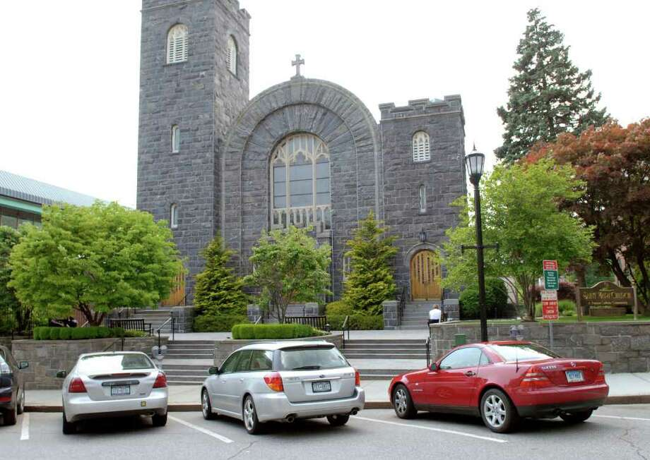 St. Mary Parish on Greenwich Avenue. Photo: File Photo / Greenwich Time File Photo