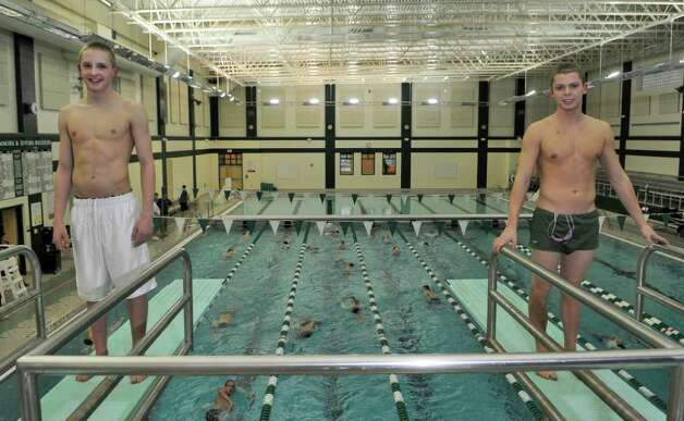Shen swimmers stay focused on success times union Clifton high school swimming pool