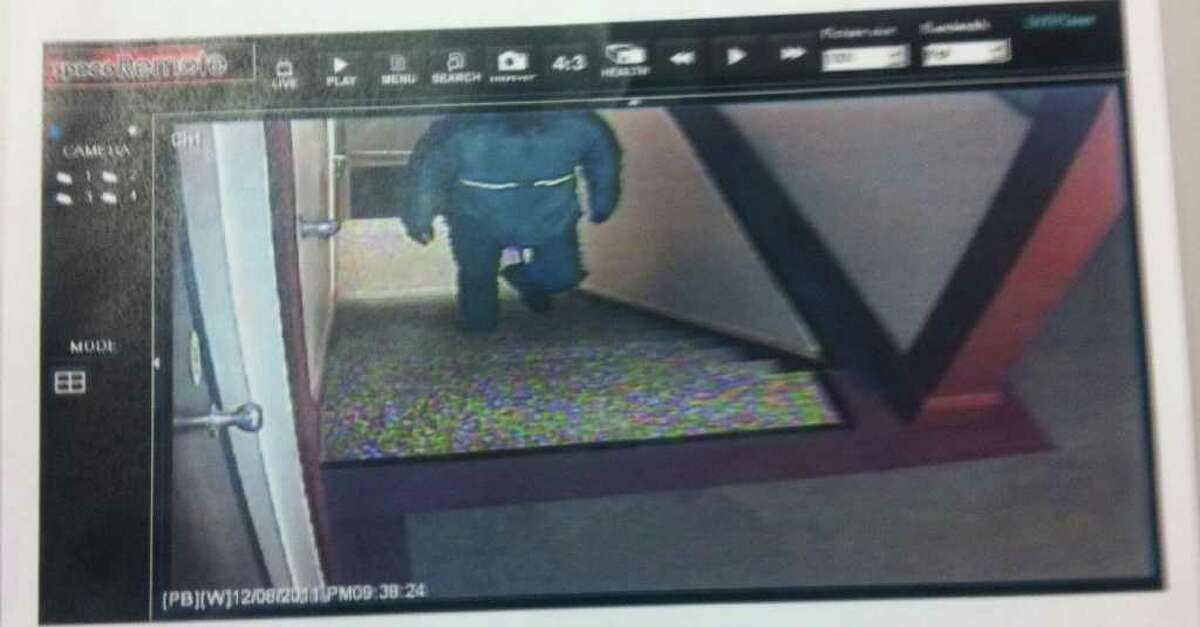 Westport police released this surveillance photo of a man they say killed Yekutiel Zeevi, 65, the owner of Y.Z. Jewelry Manufacturing in Westport during a robbery.