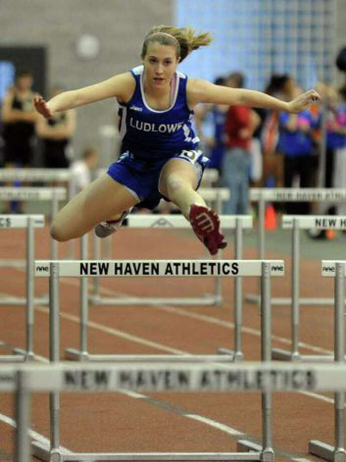 Fairfield Ludlowe sophomore Alex Wykoff will be one of the top-hurdlers for the Falcons in 2011-12. Photo: File Photo