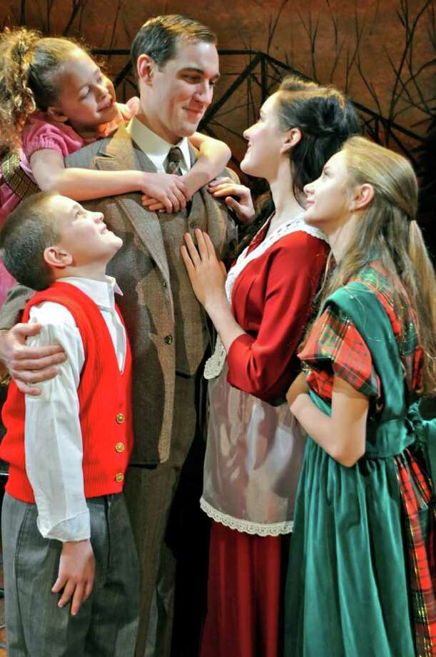 Brad Heikes stars as George Bailey in the Cohoes Music Hall?s production of ?It?s a Wonderful Life.?