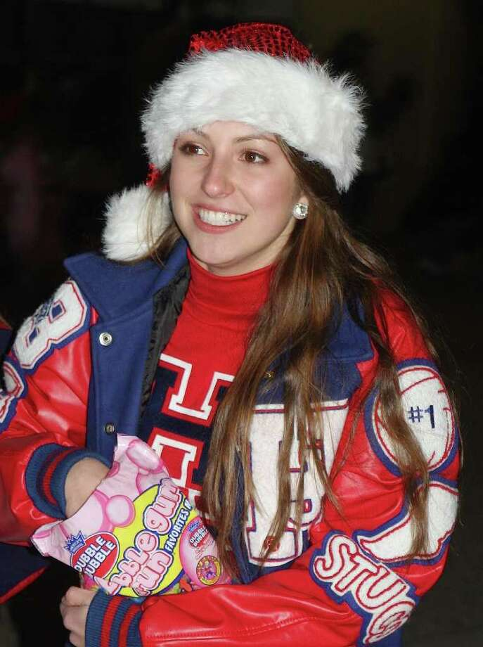 The Downtown Sour Lake Posse hosted Sour Lake's Annual Festival Christmas on the Square on Thursday, Dec. 8. The community gathered to celebrate the Christmas season, honor local hero Kim Huckabee, and enjoy the lighted Christmas Parade. Photo: David Lisenby, HCN_Sour Lake Parade 2