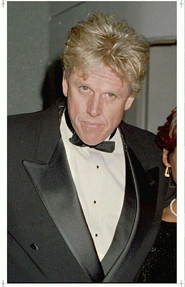 LOA01:USA BUSEY:LOS ANGELES,5MAY95- FILE PHOTO NOV94- Actor Gary Busey, shown in this November 1994 file photo, was in serious condition May 5 after an apparent overdose of cocaine according to a sheriff's department spokesman. Paramedics were called to Busey's home in the evening May 4 after Busey's fiancee found him unconscious. fsp/Photo by Fred Prouser  REUTERS Photo: Fred Prouser, REUTERS