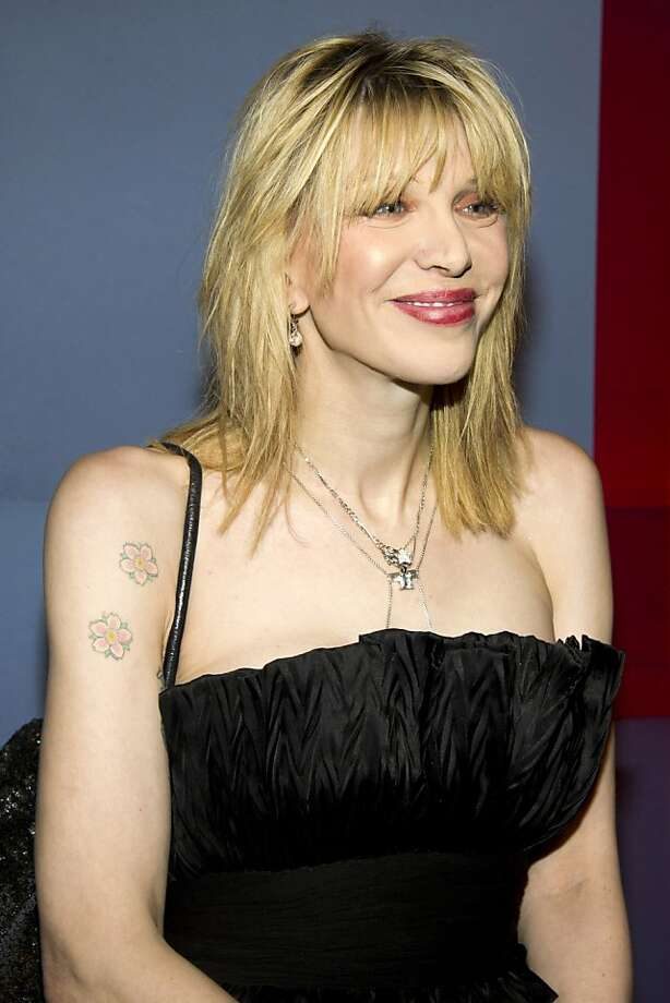 Courtney Love attends the launch of the Valentino Garavani Virtual Museum, in New York, Wednesday, Dec. 7, 2011. (AP Photo/Charles Sykes) Photo: Charles Sykes, AP