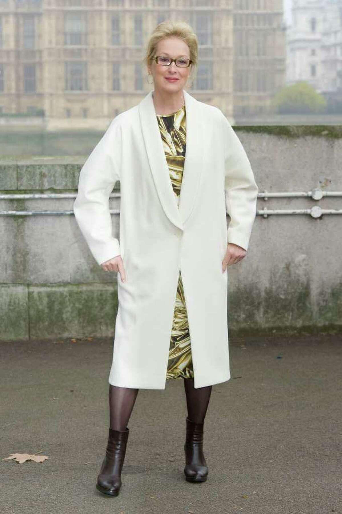 Actress Meryl Streep, 62