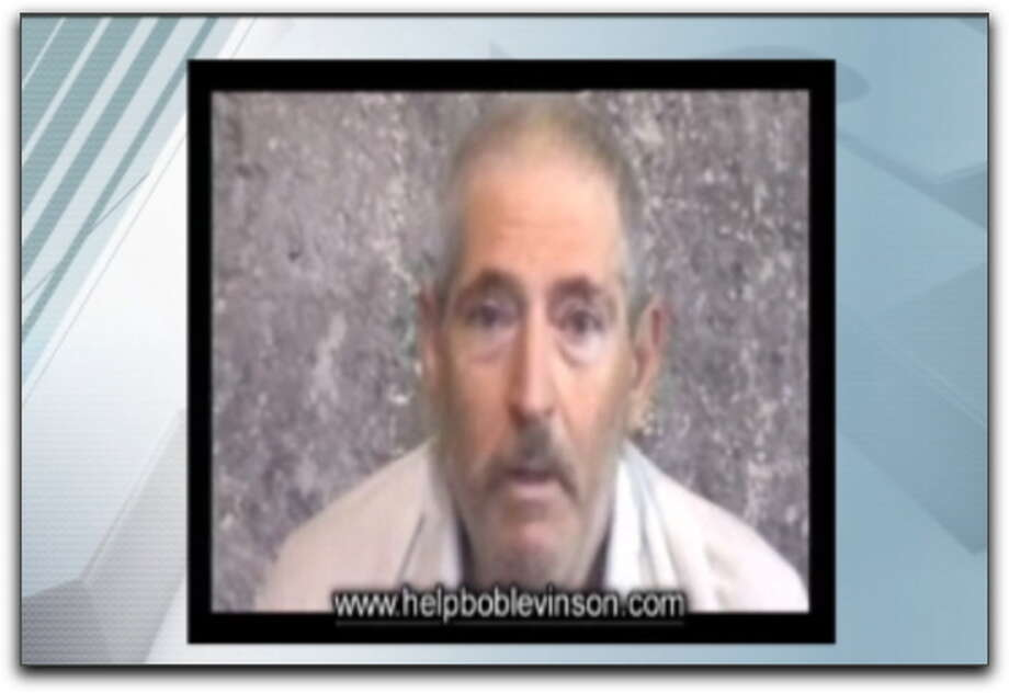 This video frame grab from a Levinson family website shows retired FBI agent Robert Levinson. The family of Levinson, who vanished years ago in Iran, issued a plea to his kidnappers Friday and, for the first time, released a hostage video they received from his captors. Photo: ASSOCIATED PRESS