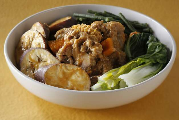 Kare Kare (Oxtail Stew) as seen in San Francisco, California on Friday, December 6, 2011. Food styled by Sarah Fritsche. Photo: Craig Lee, Special To The Chronicle