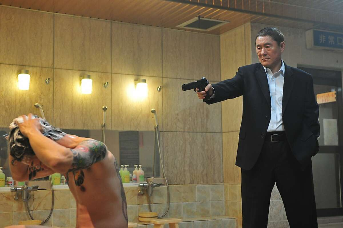 Beat Takeshi in OUTRAGE, a Magnet Release.