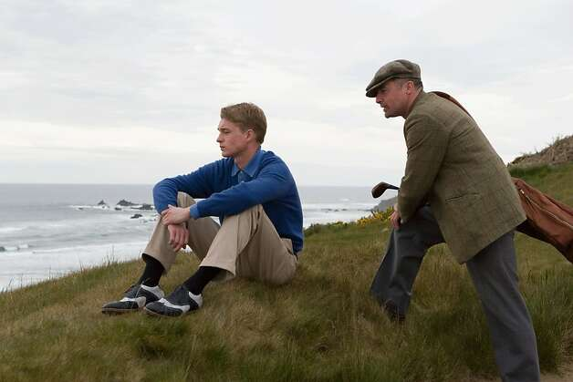 "Mason Gamble as Michael Murphy and David O'Hara as Shivas Irons in, ""Golf in the Kingdom."" Photo: Scott Green, Golf In The Kingdom, LLC"