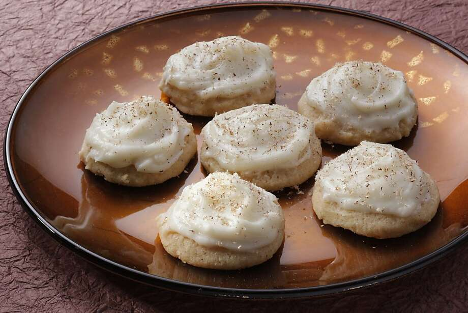 Eggnog Cookies: These rum-spiked cookies might even win over eggnog naysayers. Click here for the recipe. Photo: Craig Lee, Special To The Chronicle