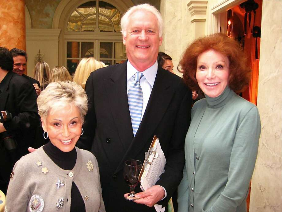 Jo Schuman Silver, Don Bleu and Ann Getty at the Snuggly Soiree. March 2010.      Ran on: 04-04-2010 Jo Schuman Silver, Don Bleu and Ann Getty attend the Snuggly Soiree.  Ran on: 11-07-2010 Ann Getty Photo: Catherine Bigelow, Special To The Chronicle