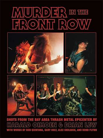 """Murder in the Front Row"" book about thrash metal music. Photo: Bazillion Points"