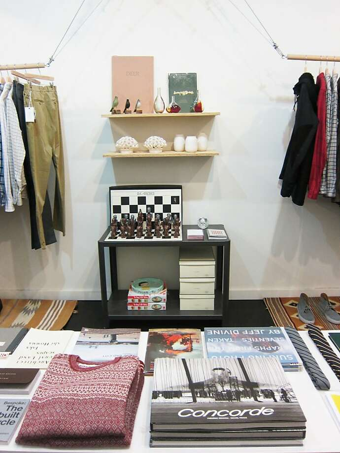 Maas & Stacks on Upper Market Street is hosting a holiday pop-up shop. Photo: Maas & Stacks