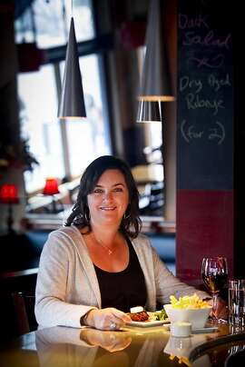Stacy Horne, Noisepop producer and co-founder of My Spoonful, is seen at her favorite bistro, Garcon, in San Francisco, Calif., on Thursday, Oct. 20, 2011.