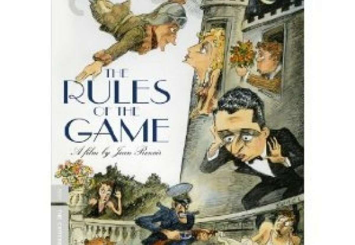 dvd cover THE RULES OF THE GAME
