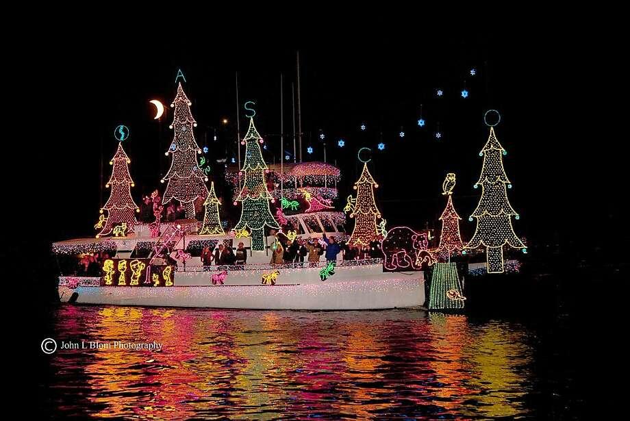 Christmas Boat Parade Newport Beach.Christmas Boat Parade In Newport Beach Sfgate