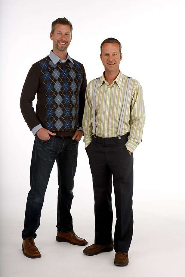 Please photograph Rob Delamater and Gaetan Caron of Lost Art Salon for the Stylemaker Spotlight column. We'll need them in the same picture, full-body shot on a white background. A couple of poses would be nice. Thanks!  Ran on: 08-29-2010 Rob Delamater (left) and Gaetan Caron Photo: Russell Yip