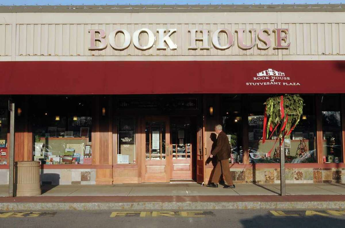 Exterior of the Book House in Stuyvesant Plaza on Friday, Dec. 9, 2011 in Guilderland, N.Y. (Lori Van Buren / Times Union)
