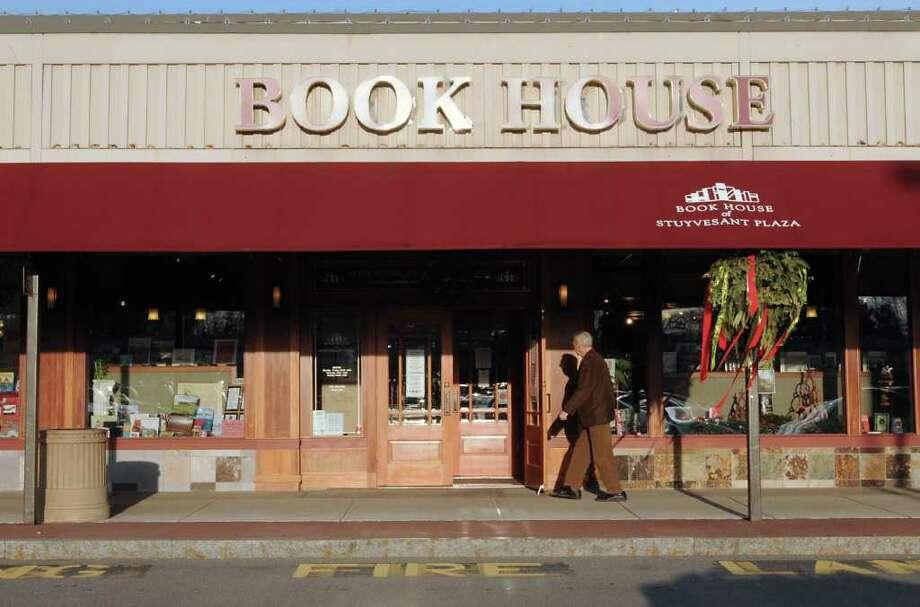 Exterior of the Book House in Stuyvesant Plaza on Friday, Dec. 9, 2011 in Guilderland, N.Y.  (Lori Van Buren / Times Union) Photo: Lori Van Buren