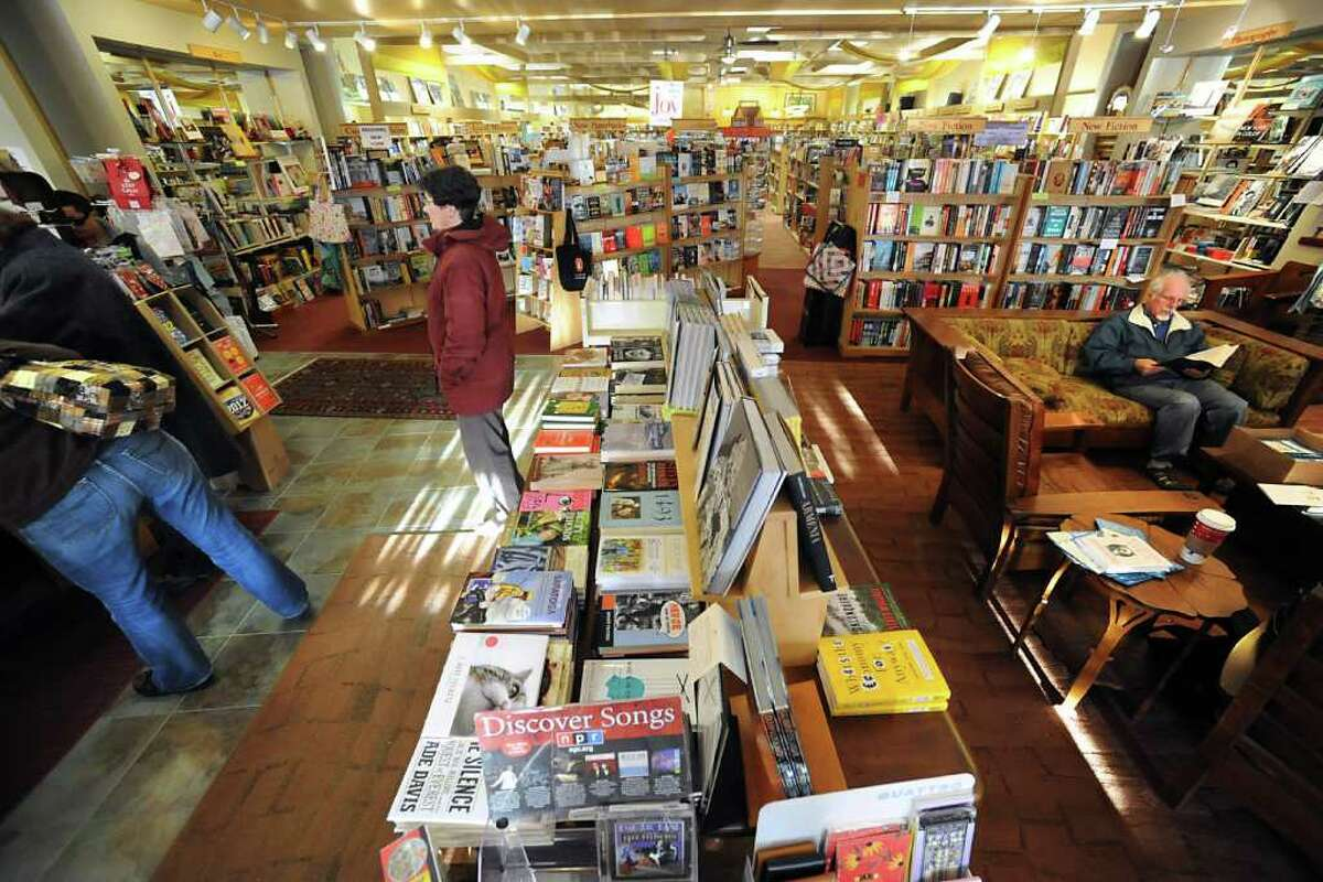 Interior of the Book House in Stuyvesant Plaza on Friday, Dec. 9, 2011 in Guilderland, N.Y. (Lori Van Buren / Times Union)