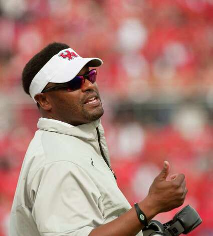 Houston head coach Kevin Sumlin during a Conference USA championship NCAA college football game against Southern Mississippi, Saturday, Dec. 3, 2011, in Houston. Southern Mississippi beat Houston 49-28. Photo: AP