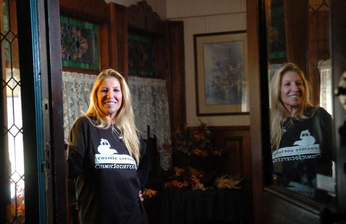 Donna Kent, founder of The Cosmic Society of Paranormal Investigation and author of
